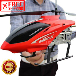 80cm Big Helicopter Remote Control Rc Aircraft Anti Fall Charging Gyroscope Toy $84.99
