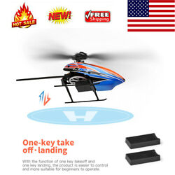 WLtoys XKS K127 RC Helicopter Remote Control Aircraft Fixed Height 2Battery K9P8 $65.41