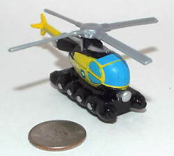 Small Micro Machine Plastic BO 105 Helicopter with Floats $8.00