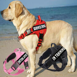 No Pull Emotional Support Pet Vest With 2 Removable Patches Service Dog Harness $13.99
