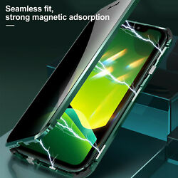 Metal Case Buckle Installation Glass Back Cover Protection Fr iPhone 12 pro Max $9.19