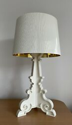 Kartell Bourgie Lamp Ivory White Gold By Ferruccio Laviani Barney's NY $499.00