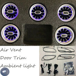 LED Air Vent Outlet For Mercedes Benz A CLA GLA W176 W117 W156 Ambient Light $379.00