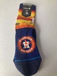 Stance MLB Houston Astros Youth Large Socks New With Defects $6.00