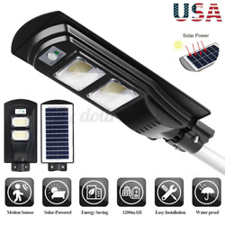 900W 90000LM Solar LED Street Light Commercial Outdoor IP65 Security Road Lamp