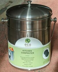 Kitchen Countertop Compost Container Can with Filter $18.00