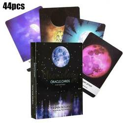Tarot Cards Moonology Oracle Cards: A 44 Card Deck English Practical Board Games $11.99