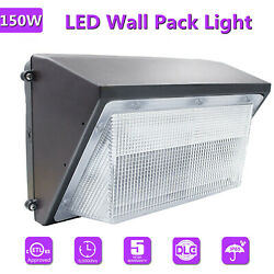 150W Commercial Lighting 5500K LED Wall Pack Light Outdoor Dusk to Dawn Lights