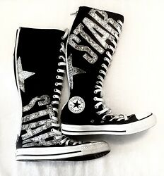 Converse All Star Knee High Shoes. Chuck Taylor. Women Size 7 Men Size 5. $87.00