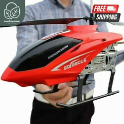 3.5CH 80cm RC Helicopters Anti Fall Large Remote Control Aircraft UAV Drones Toy $139.98