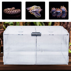 Transparent Acrylic Climbing Pet Box High quality Simple Shape Design W Thermome $29.00