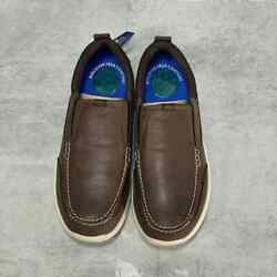 NUNN BUSH Brown Leather Mens Conway Loafers SZ 8 $60.00
