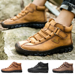 Mens High Top Sneakers Non Slip Wearable Running Hiking Walking Sports Size 14 $39.99