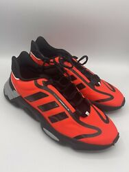 Adidas Ozweego Pure Athletic Shoe Red Black Men#x27;s Running Sneaker Casual Trainer $69.99