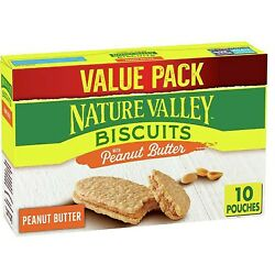 Nature Valley Biscuits With Peanut Butter 13.5 oz $7.25