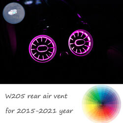 Rear Air Vent W205 Ambient Light LED Atmosphere Lamp For Mercedes Benz C Class $49.99