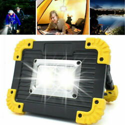 Portable LED Rechargeable Cordless Work Light Outdoor Camping Lamp Floodlight US $10.69