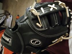 EXTREMELY RARE AND EXCLUSIVE SPALDING PRO SELECT FIRSTBASE TRAINERS MITT RHT $300.00