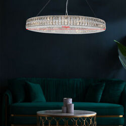 Luxury Hotel Decorative Large Crystal Pendant Hanging Lamp Staircase Chandelier $940.00