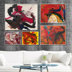 Abstract Art Graffiti Canvas Poster Prints Picture Wall Living Room Home Decor C $4.07
