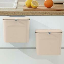 Kitchen Compost Container LALASTAR Counter Compost Bin with Lid Wall Mounted ... $30.76