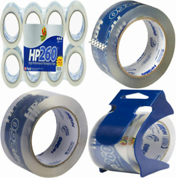 Duck HP260 Packing Tape Refill 8 Rolls 1.88 Inch x 60 Yard 8 Pack Clear $15.30