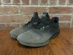 Adidas Athletic Running Shoes Mens 13 Black Fade Lace Up Art 4263 $26.45