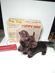 Vintage Everybody Loves quot;CHEERFULquot; PUPPY DOG Battery Operated Remote Control $40.00