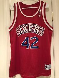 Jerry Stackhouse 76ers Jersey Champion Size 44 Vintage Sixers $49.99