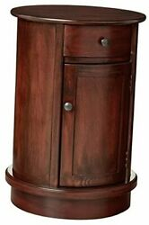 Side Table Vintage Cherry Finish $175.78
