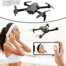 NEW V4 RC Drone HD Wide Angle Camera WiFi FPV Quadcopter One Key Start $35.94