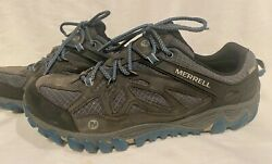 Merrell Unifly Mens Sneakers Size 11.5 Trail Shoe Hiking Black amp; Gray Used $34.00