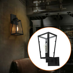 110V Outdoor Wall Light Fixture Exterior Lighting Lamp 40W Porch Patio Sconce US