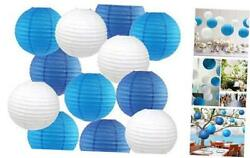Paper Lanterns 8quot; Chinese Japanese Paper Hanging Decorations Round Ball $19.19