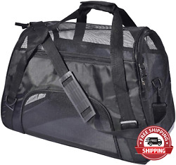 PPOGOO Large Pet Travel Carriers 20.9X10.2X12.6 22Lb 10Kg Soft Sided Portable B $56.64