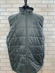 Patagonia Nano Puff Vest Primaloft Quilted Outdoor Hiking Men's Size XXL Puffer $69.00