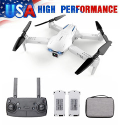 GoolRC S162 Foldable Drone WIFI FPV 4K Wide Angle Camera GPS Quadcopter f Adults $60.72