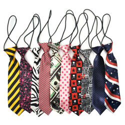 10PCS Big Ties Large Ties Dog Large Neckties For Dog Grooming Accessories GOGO $15.99