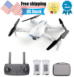 GoolRC S162 Foldable Drone WIFI FPV 4K Wide Angle Camera RC GPS Quadcopter I8D2 $83.32