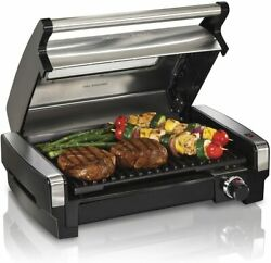 Electric Indoor Searing Grill with Viewing Window and Removable Easy to Clean $79.99