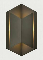 Lex One Light Small Outdoor Wall Sconce in Modern Style 8.5 Inches Wide by $549.00