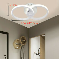 LED Ceiling Light Modern Chandelier Pendant Dining Room Ceiling Fixture Dimmable $29.14
