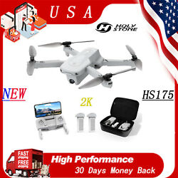 Holy Stone HS175 Drone RC with 2K HDR Camera 5G Wifi FPV Quadcopter GPS Return $129.00