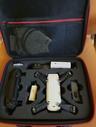 DJI Spark with travel case extra battery SD card accessories. Great condition $300.00