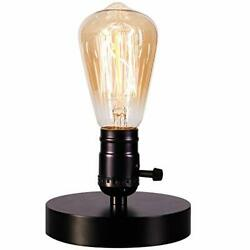 Licperron Vintage Lamps Table Lamp Base E26 E27 Industrial Small Desk Lamp with $20.75