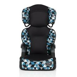 Evenflo Big Kid High Back Booster Car Seat Backless Booster Abstract Boston Blue $51.73