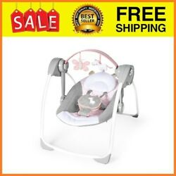 Baby Bouncer Swing Seat Rocker Portable Electric W Sounds Infant Cradle Chair $71.99