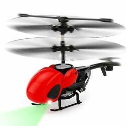 Mini RC Helicopters 3.5CH Remote Control Helicopter Toys with LED Light Gyro ... $31.88