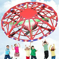 Exfunny UFO Drones for Kids Hand Controlled Kid Drone Mini Drone with Led Lig... $31.84