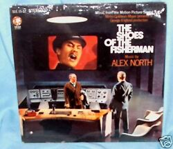 LP ALEX NORTH Shoes of the Fisherman OST F#x27;SLD $5.99